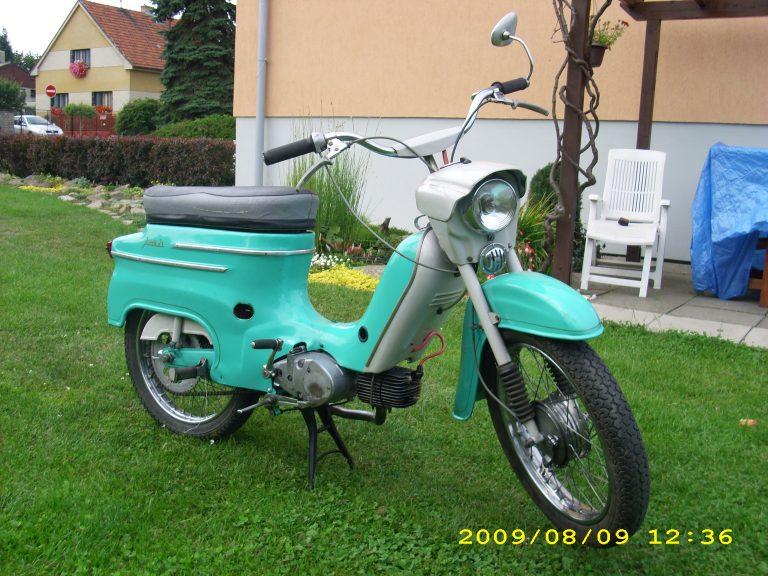 Druhá výrobní etapa motocyklu Jawa 50 typ 21 Sport (1969-1972)