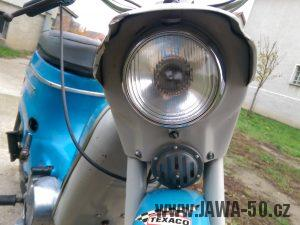 Lakovaný 12V bzučák (klakson) Jawa 50 (od 1971)