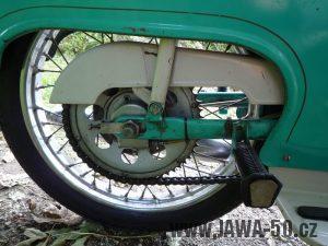 Řetězové kolo (rozeta) Jawa 50 - varianta 4