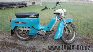 Jawa 50 typ 21 Sport (Pionýr) - čtvrtá etapa z roku 1975