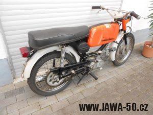 Jawa 23 Golden Sport 4. generace - vývoz do Západního Německa (1974)