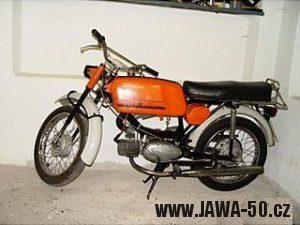 Jawa 23 Golden Sport 4. generace - mokik pro NSR (1974)