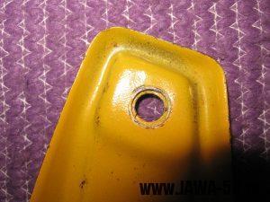 Jawa 23 Golden Sport 3. generace - továrně upravený držák předního světla