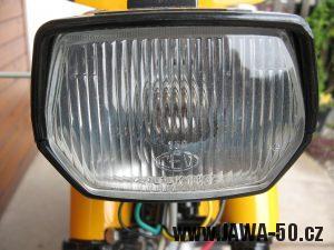 Jawa 23 Golden Sport 3. generace - přední světlomet Puch