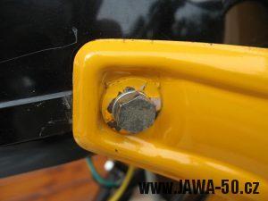 Jawa 23 Golden Sport 3. generace - držák předního světla