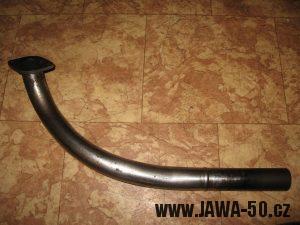 Jawa 23 Golden Sport 3. generace, mokik se sníženým výkonem - delší výfukové koleno snižující výkon motoru