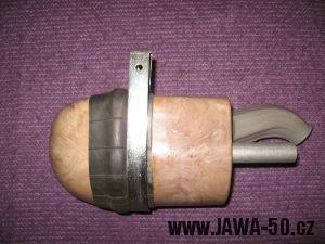 Jawa 23 Golden Sport 3. generace - vzduchový filtr s upevňovací sponou